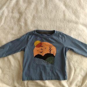 EUC baby t-shirt halloween vibes